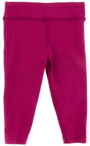 KicKee Pants Solid Berry Performance Jersey Leggings with Waistband Basically Bows & Bowties