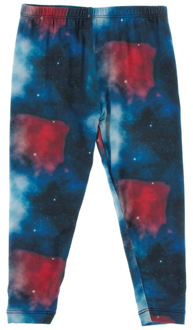 KicKee Pants Red Ginger Galaxy Leggings