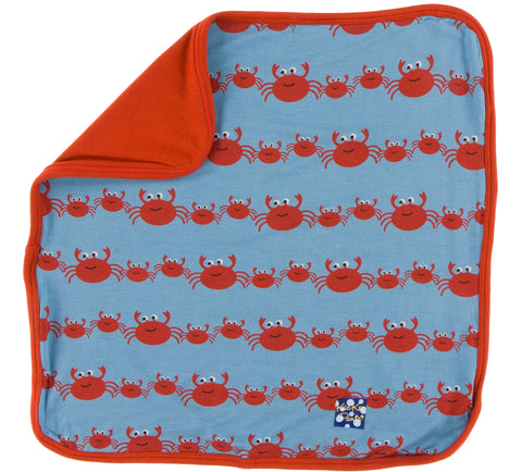 KicKee Pants Blue Moon Crab Family Bamboo Lovey