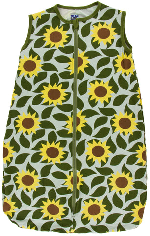 KicKee Pants Aloe Sunflower Lightweight Sleeping Bag