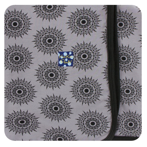 KicKee Pants Feather Mandala Swaddling Blanket Basically Bows & Bowties
