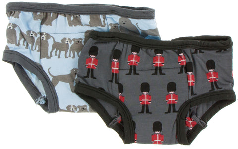 KicKee Pants London Dogs & Queen's Guard Training Pants Set