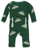 KicKee Pants Topiary Italian Car Coverall with Zipper