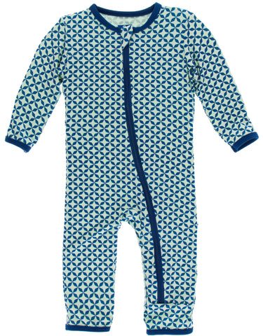 4c328d726 KicKee Pants Pistachio Taj Mahal Coverall with Zipper Basically Bows &  Bowties