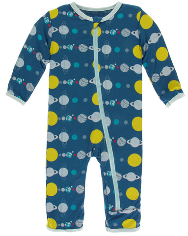 KicKee Pants Twilight Planets Coverall with Zipper