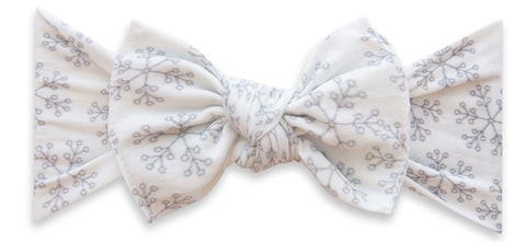 Baby Bling Ice Queen Printed Knot Headband Basically Bows & Bowties