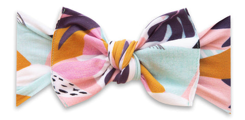 Baby Bling Tropical Deco Printed Knot Headband Basically Bows & Bowties