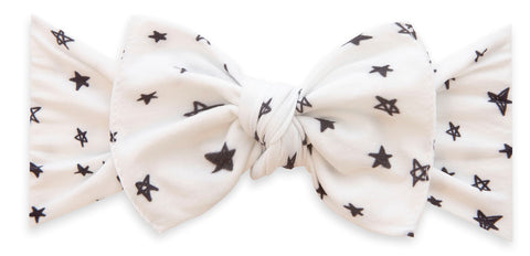 Baby Bling Written in the Stars Printed Knot Headband Basically Bows & Bowties