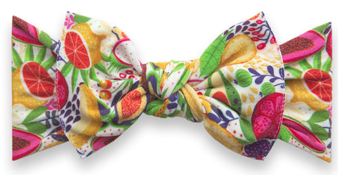 Baby Bling Avocado Fruit Printed Knot Headband