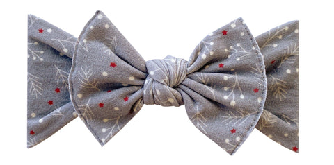 Baby Bling Berries Printed Knot Headband