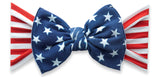 Baby Bling Flag Printed Knot Headband