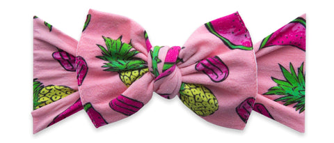 Baby Bling Fruit Popsicle Printed Knot Headband