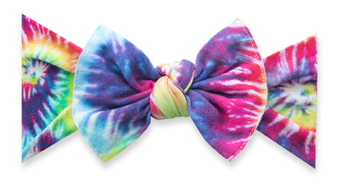 Baby Bling Groovy Printed Knot Headband
