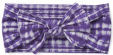 Baby Bling Indigo Girl Printed Knot Headband