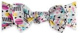 Baby Bling Rad Retro Printed Knot Headband - Basically Bows & Bowties