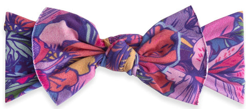 Baby Bling Tropifall Printed Knot Headband - Basically Bows & Bowties