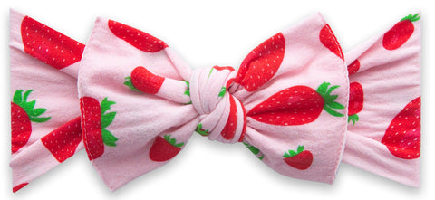 Baby Bling Very Berry Printed Knot Headband