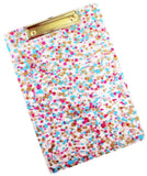 Packed Party Confetti Clip Board