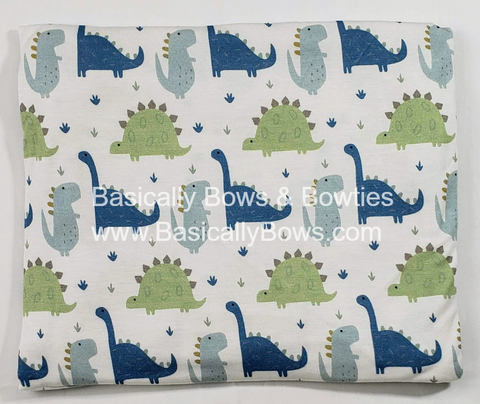 Kozi & Co Blue Dino Swaddle