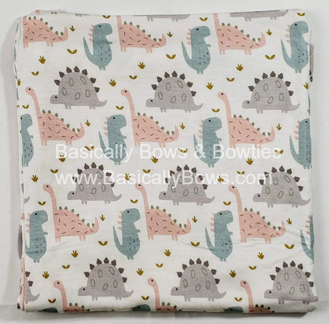 Kozi & Co Pink Dino Swaddle