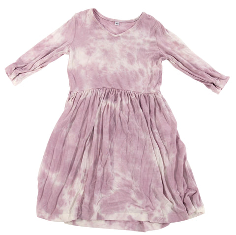 Fairwell Prairie Dress in Petal