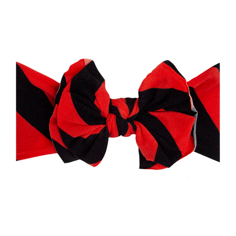Baby Bling Red / Black Printed FAB-BOW-LOUS