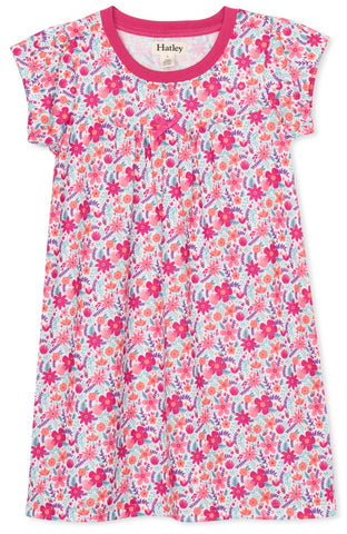 Hatley Pink Summer Garden Nightdress