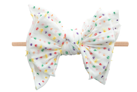 Baby Bling SHAB-BOW-LOUS Skinny Headband - Birthday 20 LE