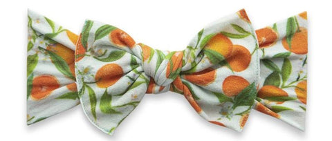 Baby Bling Tropicana Printed Knot Headband Basically Bows & Bowties