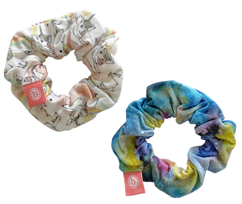 Baby Bling  Cosmic Pigasus Scrunchie 2 Pack