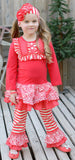Serendipity Candy Cane Lane Dress & Legging Set
