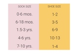 Little Stocking Co Size Chart Socks