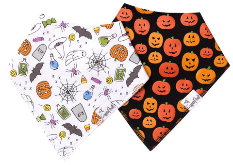 Copper Pearl Spook Bandana Bib Set Basically Bows & Bowties