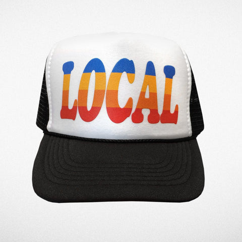 Tiny Whales Local Trucker Hat - Basically Bows & Bowties