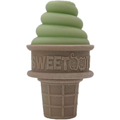 Sweetooth Growing Green Ice Cream Cone Teether 3.0