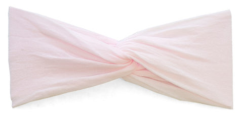 Baby Bling Pink Twist Headband Basically Bows & Bowties