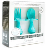 Teal My Heart Grabease Fork & Spoon Set