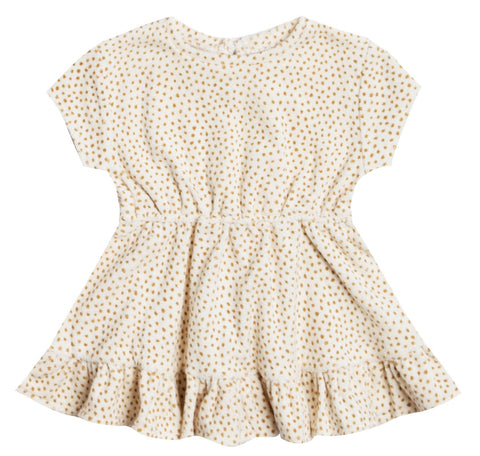 Quincy Mae Ivory Terry Dress