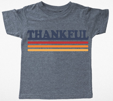 Tiny Whales Thankful Short Sleeve Tee Basically Bows & Bowties