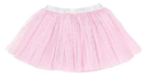 Sweet Wink Pink with Silver Glitter Tutu