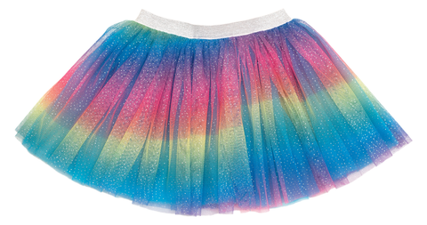Sweet Wink Rainbow Dust Glitter Tutu Basically Bows & Bowties