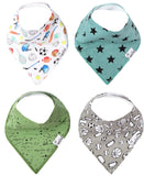 Copper Pearl Varsity Bandana Bib Set Basically Bows & Bowties