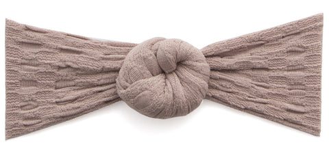 Baby Bling Waffle Bun-Taupe - Basically Bows & Bowties