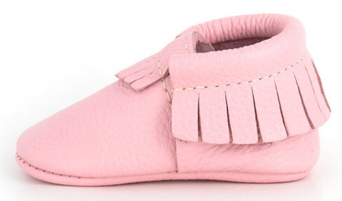 Freshly Picked Cotton Candy Moccasins - Basically Bows & Bowties