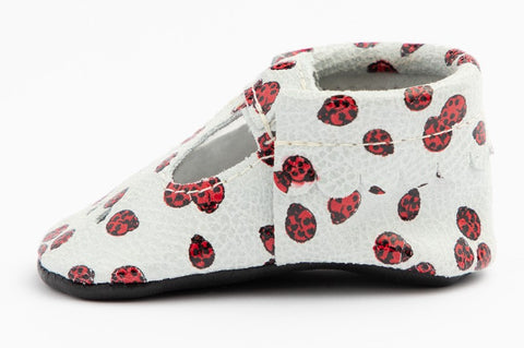 Freshly Picked Lucky Ladybug Mary Jane Mini Sole