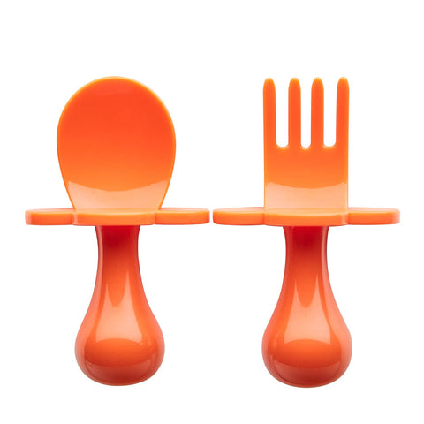 Orange You Hungry Grabease Fork & Spoon Set