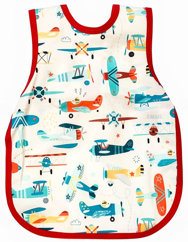 BapronBaby Retro Airplanes Toddler Bapron