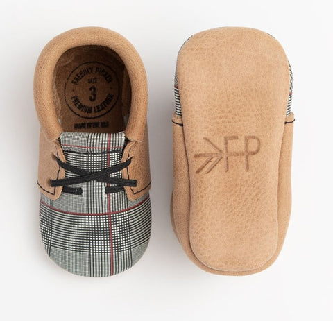 Freshly Picked Plaid Tidings Oxford Soft Sole Moccasins