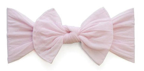 Baby Bling Preemie Itty Bitty Knot Headband (12 Colors) - Basically Bows & Bowties
