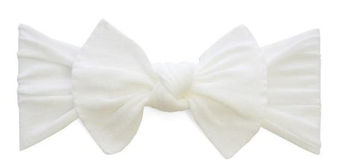 Baby Bling Preemie Itty Bitty Knot Headband (12 Colors) - Basically Bows    Bowties b5a05442069